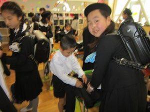 東星学園小学校 校長 大矢正則 カトリック ミッション 男女 1年生の生活(1)