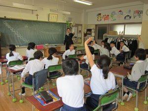 東星学園 校長 大矢正則 カトリック ミッション 男女 4月22日 第1回 学校説明会(1)