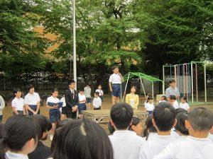 東星学園小学校 校長 大矢正則 清瀬 私立 小学校 1年生の生活(10)