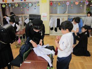 東星学園小学校 校長 大矢正則 清瀬 私立 小学校 1年生の生活(4)