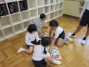 東星学園小学校 大矢正則校長 清瀬 私立 小学校 1年生の生活(6)