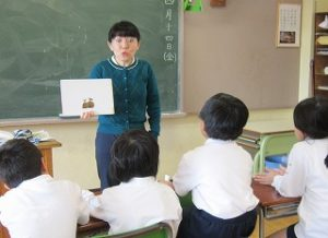 東星学園 大矢正則校長 カトリック ミッション 男女 4月22日 第1回 学校説明会(3)