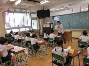 東星学園小学校 校長・大矢正則 清瀬 私立 小学校 1年生の生活(8)