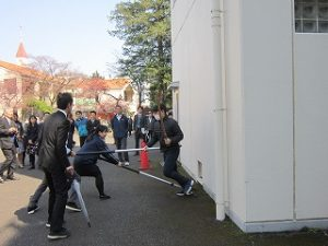 東星学園 校長 大矢正則 清瀬 私立 小学校 職員防犯訓練 4月4日(火)(4)