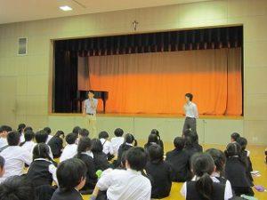 東星学園 校長 大矢正則 カトリック ミッション 男女 クラブ活動(1)