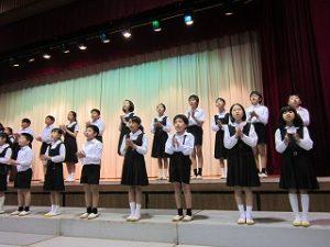 東星学園 校長 大矢正則 清瀬 私立 小学校 「ヨゼフ祭・創立記念ミサ」(4)