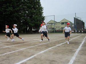 東星学園 校長 大矢正則 清瀬 私立 小学校 運動会に向けて(低学年)(2)