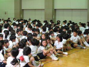 東星学園 校長・大矢正則 清瀬 私立 小学校 全校防犯訓練  5・6年生防犯教室(4)