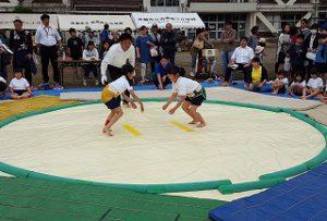 東星学園 校長 大矢正則 清瀬 私立 小学校 第36回わんぱく相撲清瀬場所(4)