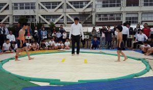 東星学園 校長・大矢正則 清瀬 私立 小学校 第36回わんぱく相撲清瀬場所(8)