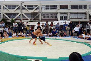 東星学園 校長・大矢正則 カトリック ミッション 男女 第36回わんぱく相撲清瀬場所(5)