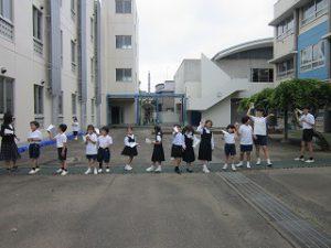 東星学園 校長・大矢正則 清瀬 私立 小学校 親子ひこうき教室(6)