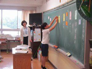 東星学園 校長・大矢正則 カトリック ミッション 男女 授業参観(5)