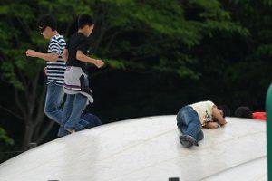 東星学園 大矢正則校長 カトリック ミッション 男女 6年生春の遠足 武蔵森林公園(3)