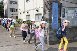 東星学園 校長 大矢正則 カトリック ミッション 男女 春の遠足1・2年生(1)