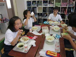 東星学園 校長・大矢正則 清瀬 私立 小学校 歯と口の健康週間(2)