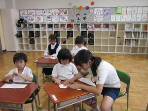 東星学園 大矢正則校長 清瀬 私立 小学校 親子ひこうき教室(4)