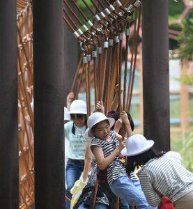 東星学園 校長 大矢正則 カトリック ミッション 男女 6年生春の遠足 武蔵森林公園(1)