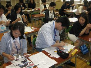 東星学園 大矢正則校長 カトリック ミッション 男女 親子ひこうき教室(1)