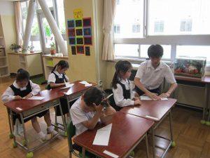 東星学園 校長 大矢正則 カトリック ミッション 男女 親子ひこうき教室(5)