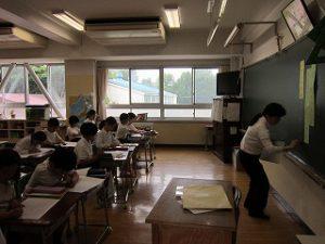 東星学園 大矢正則校長 カトリック ミッション 男女 授業参観(3)