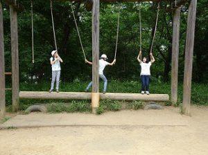 東星学園 校長・大矢正則 清瀬 私立 小学校 6年生春の遠足 武蔵森林公園(2)