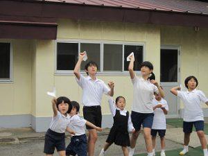 東星学園 校長 大矢正則 清瀬 私立 小学校 親子ひこうき教室(8)
