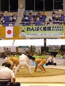 東星学園 校長 大矢正則 カトリック ミッション 男女 相撲大会(1)
