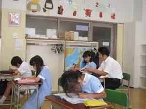 東星学園 校長 大矢正則 カトリック ミッション 男女 8月26日 第3回 学校説明会(1)