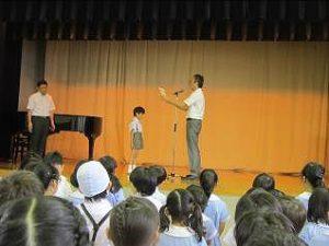 東星学園 校長 大矢正則 清瀬 私立 小学校 終業日(2)