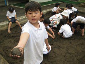 東星学園 校長 大矢正則 清瀬 私立 小学校 「砂や水でおもいきり遊ぼう!」(1)