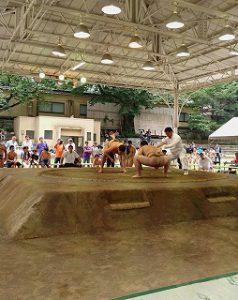 東星学園 校長 大矢正則 カトリック ミッション 男女 相撲大会(7)