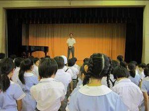 東星学園 大矢正則校長 カトリック ミッション 男女 終業日(1)