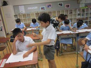東星学園 大矢正則校長 カトリック ミッション 男女 8月26日 第3回 学校説明会(3)