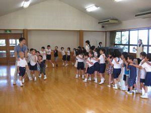 東星学園 校長 大矢正則 清瀬 私立 小学校 1年生…幼稚園との交流会(4)