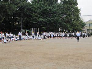東星学園 大矢正則校長 カトリック ミッション 男女 防災避難訓練(3)