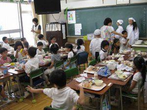 東星学園 校長・大矢正則 清瀬 私立 小学校 1年生…幼稚園との交流会(8)