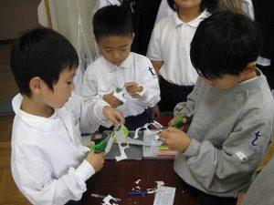 東星学園 校長 大矢正則 カトリック ミッション 男女 「1年生 お店屋さんごっこ」(7)