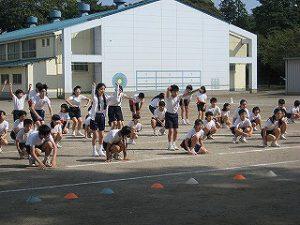東星学園 大矢正則校長 清瀬 私立 小学校 体育祭に向けて(2)