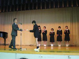 東星学園 大矢正則校長 清瀬 私立 小学校 後期始業式(6)