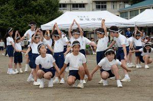 東星学園 校長 大矢正則 清瀬 私立 小学校 体育祭(4)