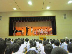 東星学園 大矢正則校長 清瀬 私立 小学校 2017年度・前期終業式(3)