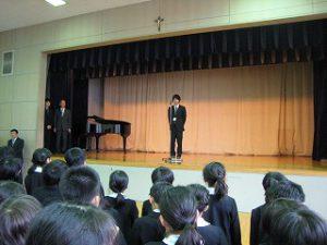 東星学園 校長 大矢正則 清瀬 私立 小学校 後期始業式(4)