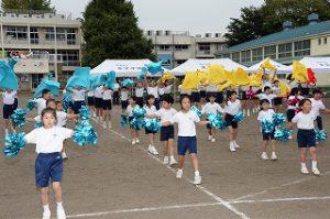 東星学園 校長・大矢正則 清瀬 私立 小学校 体育祭(2)