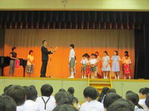 東星学園 校長・大矢正則 カトリック ミッション 男女 2017年度・前期終業式(2)
