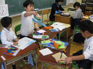東星学園 大矢正則校長 カトリック ミッション 男女 「1年生 お店屋さんごっこ」(3)