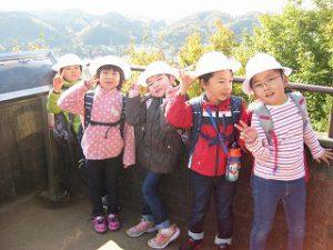 東星学園 校長・大矢正則 カトリック ミッション 男女 1年生 秋の遠足~みんなで たのしく 山を あるきましょう!~(5)