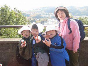 東星学園 大矢正則校長 ミッション 男女 男女1年生 秋の遠足~みんなで たのしく 山を あるきましょう!~(6)