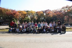 東星学園 校長・大矢正則 カトリック ミッション 男女 3年生遠足(5)
