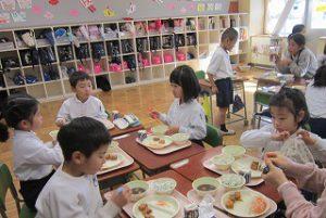 東星学園 校長 大矢正則 カトリック ミッション 男女 1月の給食(7)